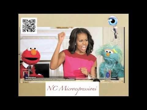 Indovina l'espressione sul volto di M Obama