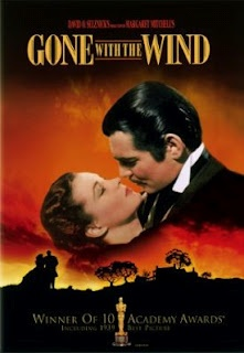 Gone With The Wind (1939) winner of ten Academy Awards in a year with intense competition. Amazing epic for the costumes alone.