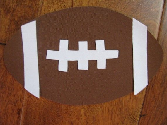 Football No Sew Iron On Applique by EllaBaDellas on Etsy, $3.00  https://www.etsy.com/listing/58081694/football-no-sew-iron-on-applique?ref=sr_gallery_21&ga_order=date_desc&ga_view_type=gallery&ga_page=2&ga_search_type=all