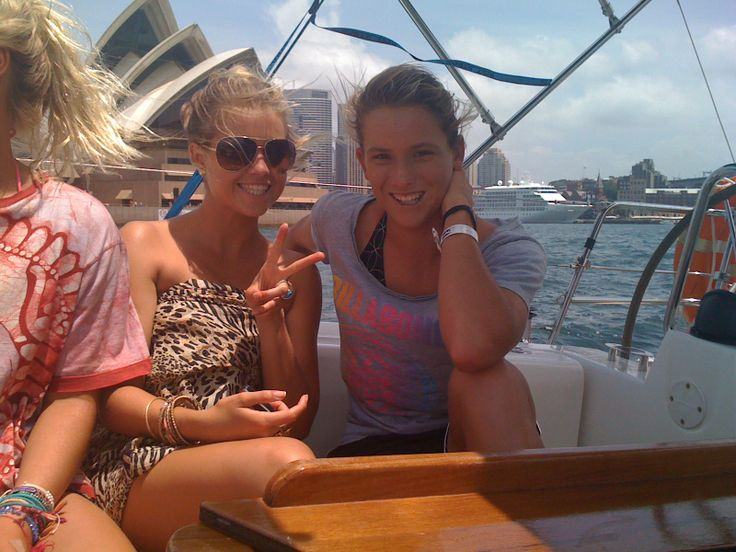 Fun times Sydney Harbour Sailing