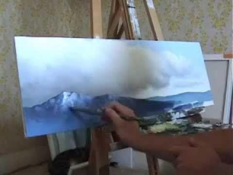 cours de peinture - technique mixte - 1er partie - YouTube