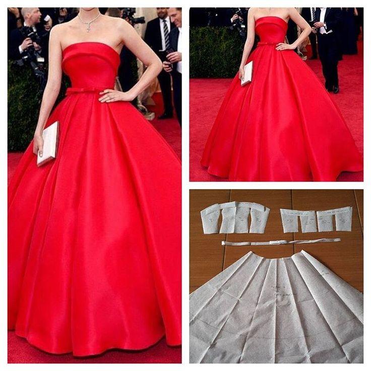 Super basic flare gown pattern.  Order by line : @modelliste (with @) #modellistepattern #jualpola #jualpattern #jasapola #jasapolabaju #jasapolapakaian #jasapembuatanpola#gown#polagown#polabajupesta#dress#poladress#poladresspesta#gownpattern#dresspattern#ballgown