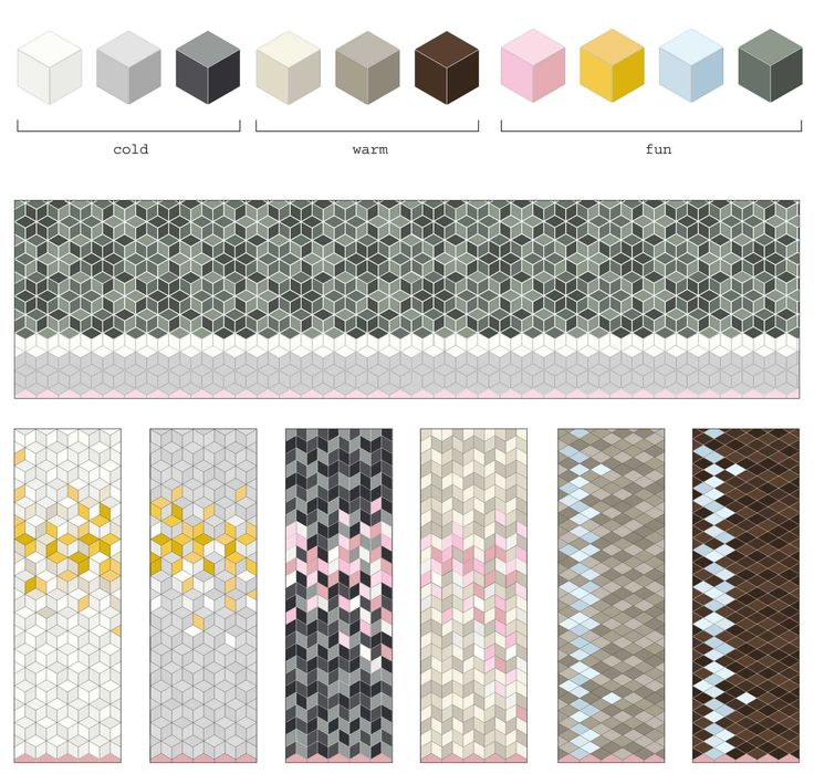 Tex tiles by Raw Edges for Mutina