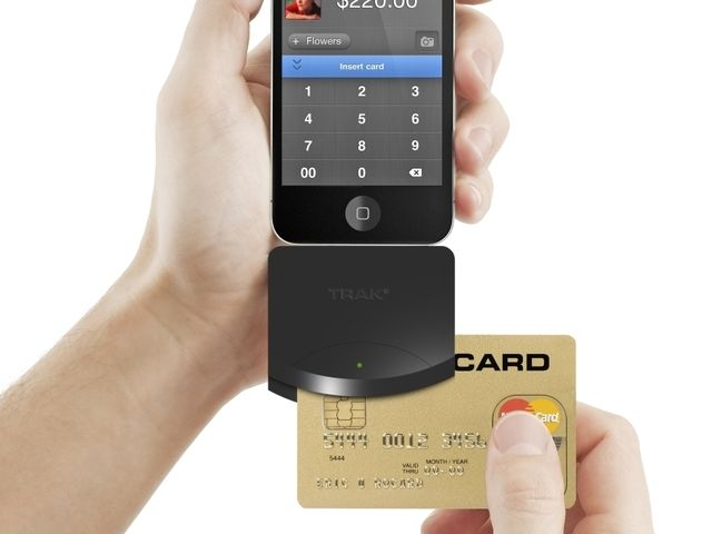Trak - iPhone & iPad Mobile POS Credit Card Reader by Keith White