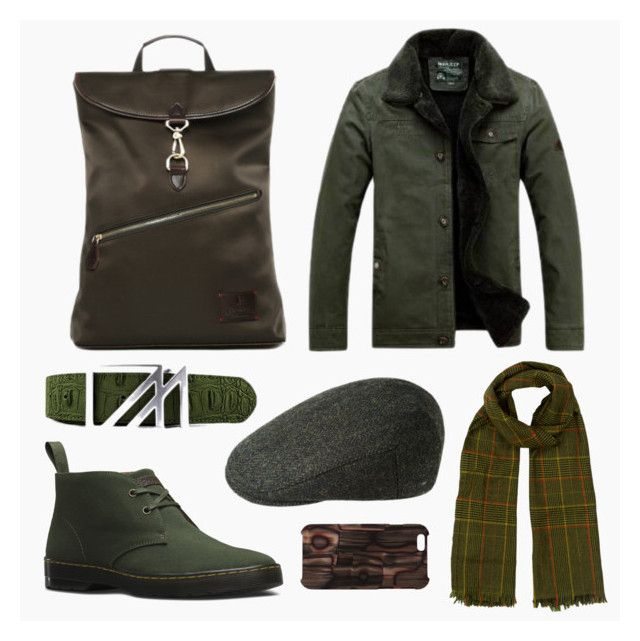 #25 Muted by Gnome & Bow on Polyvore | Book II Jekyll's Hyde Collection | Clifford Backpack in Forest Green