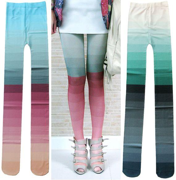Ombre tights!