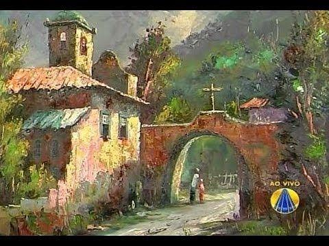 Pintura em Tela   Sabor de Vida - 11 de Julho de 2012