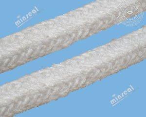 "CeraTex 3140 Ceramic Fiber Square Braid (Standard) 1-1/4"" x 70 LF/Spool"