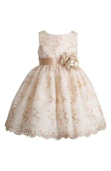 Kleinfeld Pink 'Leela' Sleeveless Dress (Toddler Girls) available at #Nordstrom