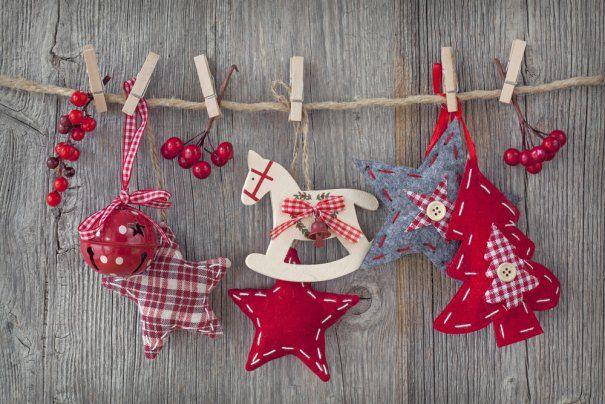Netradiční vánoční dekorace