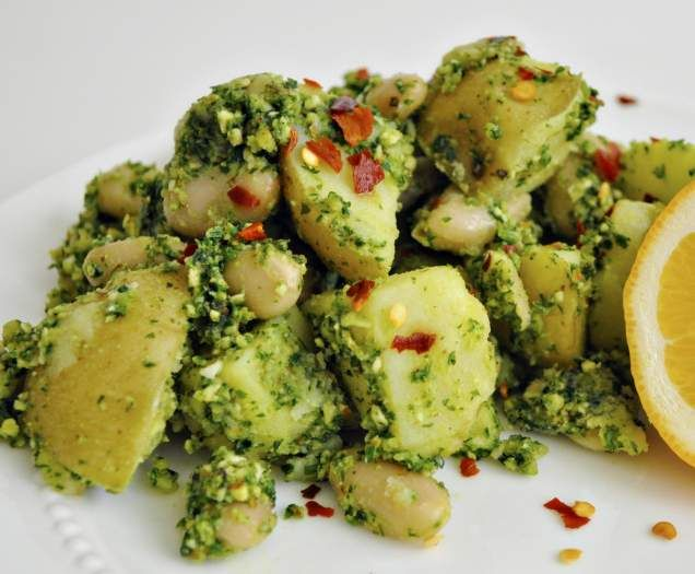 Recipe Potato & White Bean Pesto Salad by perthgirl - Recipe of category Main dishes - vegetarian