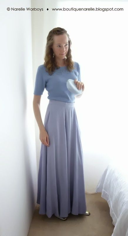 Modest Clothing Bonanza: Timeless Wedgewood http://boutiquenarelle.blogspot.co.nz/2014/02/modest-clothing-bonanza-timeless.html