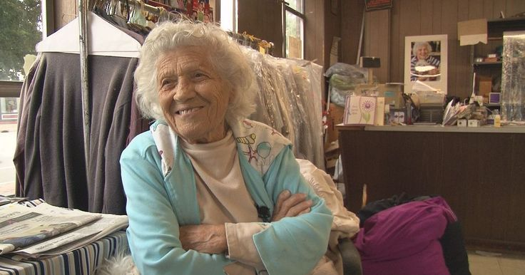 Felimina Rotundo works six days a week washing clothes at a local Laundromat, and shows no signs of stopping anytime soon, even at the age of 100.