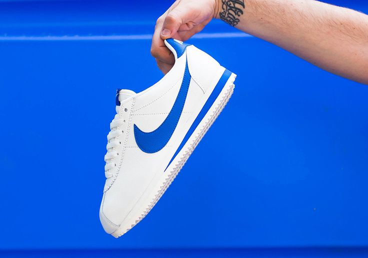 """#sneakers #news  Nike Adds """"Blue Jay"""" To The Cortez Classic Leather"""