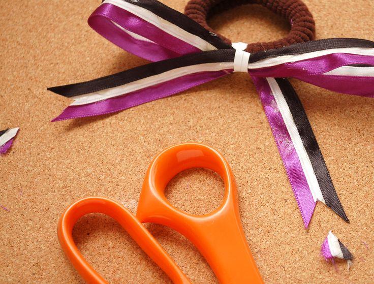 How to Make a Cheerleading Hair Bow -- via wikiHow.com