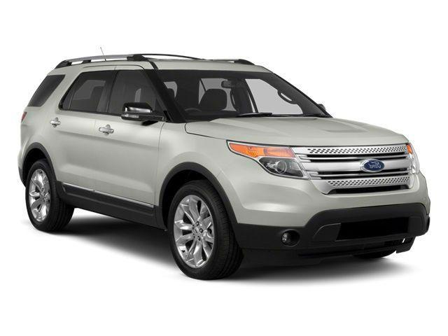 2014 Ford Explorer XLT Silver