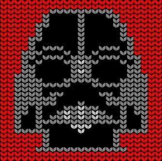 Star wars knit charts
