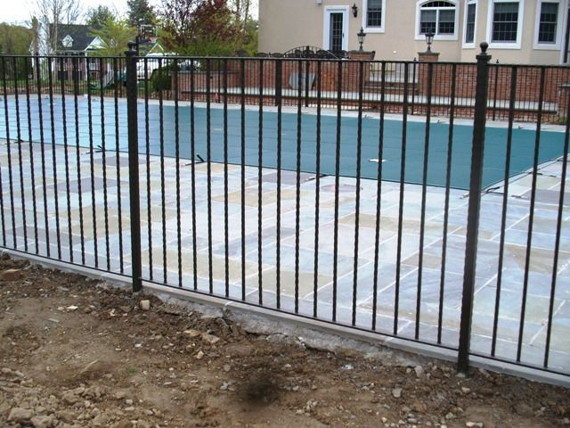 Wrought Iron Pool Fencing Pool Fence Wrought Iron Pool Fence Iron Fence