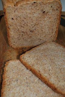 Not a Short Order...: Honey Whole Wheat Sandwich Bread (Bread Machine)