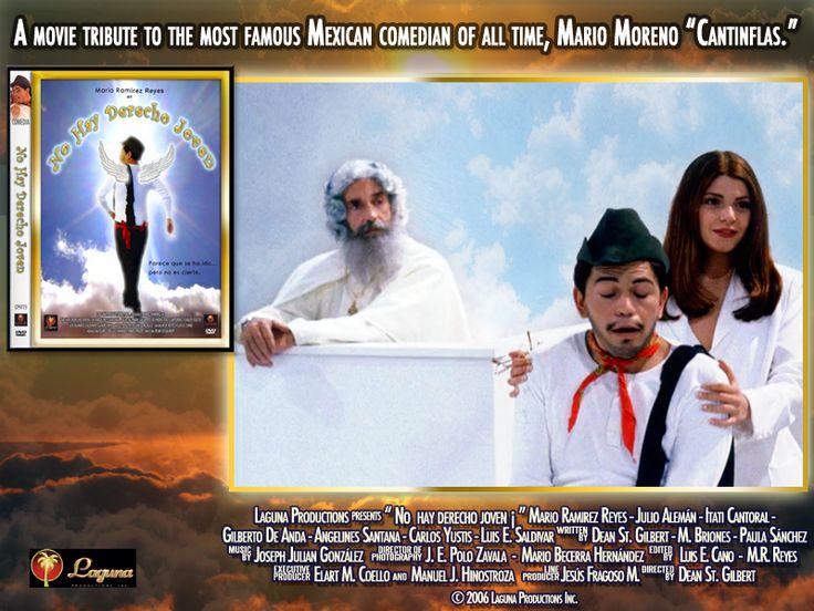 """Julio Alemán, Mario Ramírez Reyes e Itati Cantoral en una escena de la película """"¡No hay derecho joven!"""", un homenaje al genial Cantinflas"""