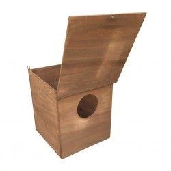 Nido artificiale in legno per rapaci ORFEO