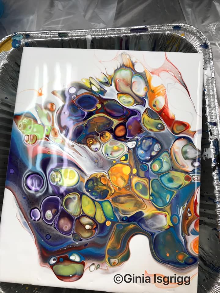 Top 10 Acrylic Paint Pouring Posts May 2019