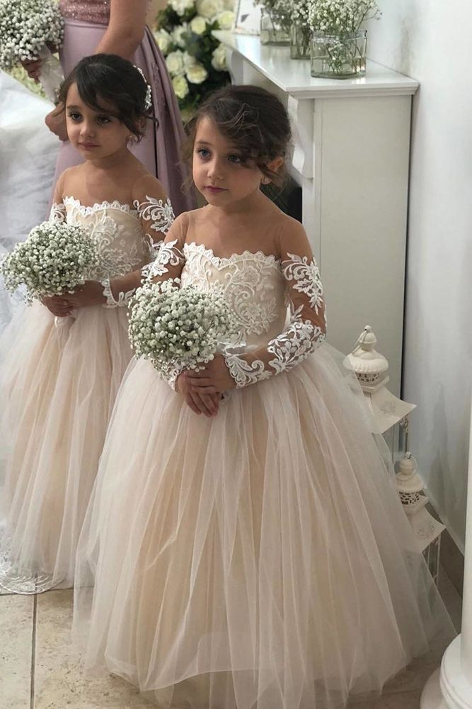 a03625ea482 24 Country Flower Girl Dresses That Are Pretty ❤ country flower girl  dresses ball gown