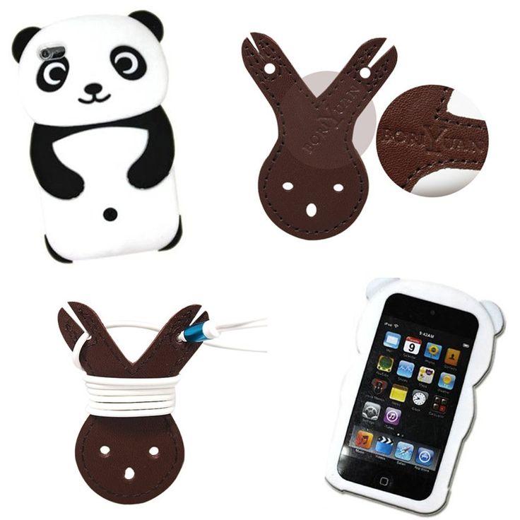 Boriyuan Global 3D Cute Panda Silicone Jelly Skin Soft: Amazon.co.uk: Electronics