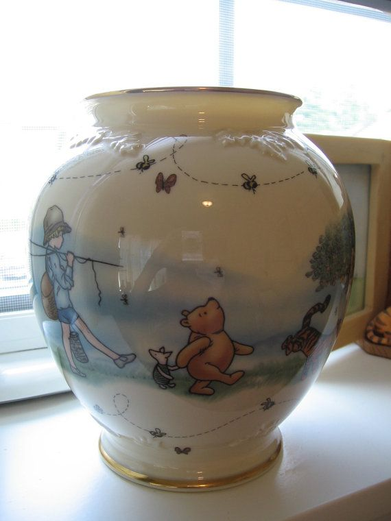Lenox Disney Winnie the Pooh Honey Pot Vase by ...