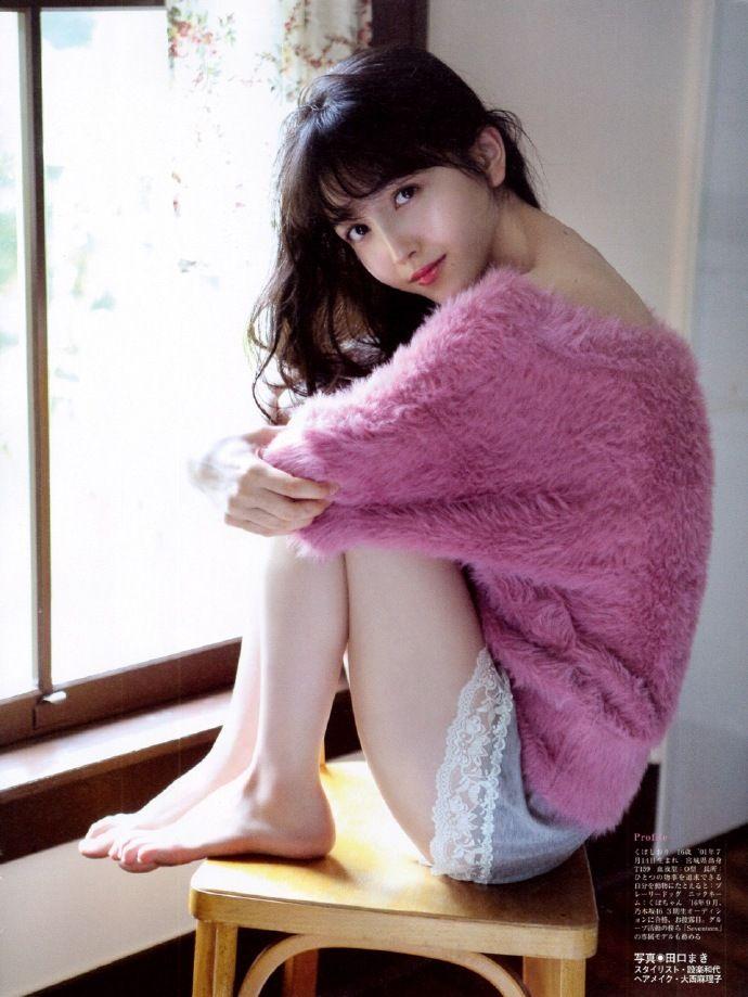 扇風機的微博_微博久保史緒里 乃木坂46 nogizaka 46 beauty magazine japan girl