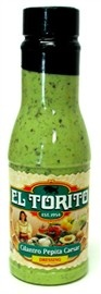 El torito cilantro pepito ceasar dressing. This is my favorite dressing in the whole world!