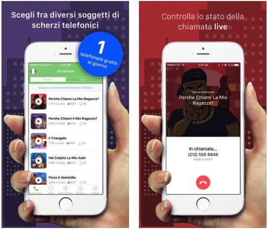 PrankDial la migliore app per fare scherzi telefonici agli amici!