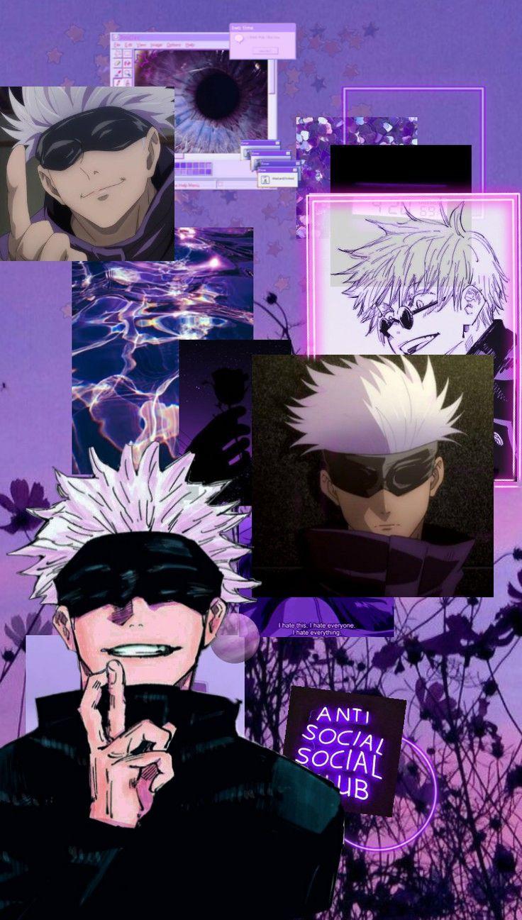 Milkytobi0 Gojo Satoru Jujutsu Kaisen Wallpapers Repost Jujutsu Cute Anime Wallpaper Anime Wallpaper Live