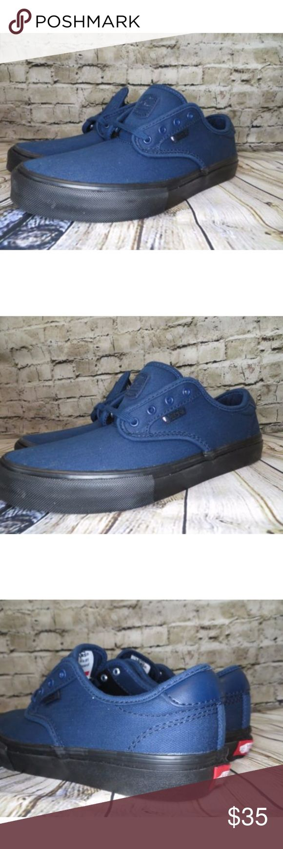 Vans Chima Ferguson Pro Navy Blue Women's 7.5 Hi!  This is an awesome pair of skate shoes in the Chima Ferguson pro style. They are a youth size 5.5. This equates to a women's size 7.5. These are brand new in the box. Vans Shoes Athletic Shoes