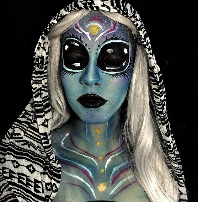 Username: @makeup_mars Number of followers: 10.3K Known for: everything from dramatic otherworldly artwork to celebrity transformations. Her re-creation of Lady Gaga was so good that we did a double take.