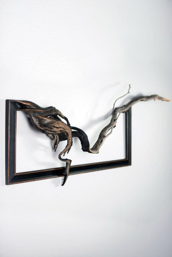 Pike Vintage Wood Frame with Grafted Manzanita by FusionFramesNW