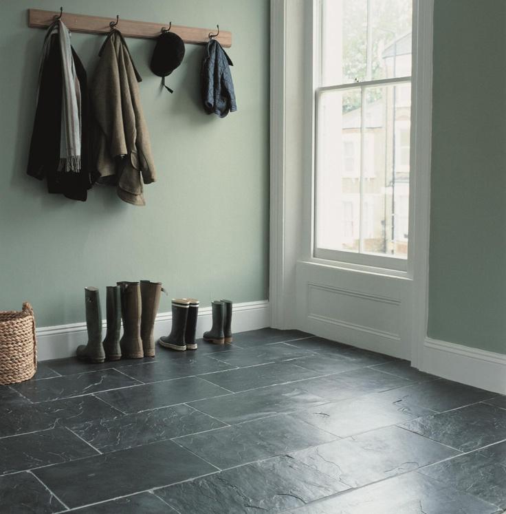 black floor tiles - Slate Floor Tiles