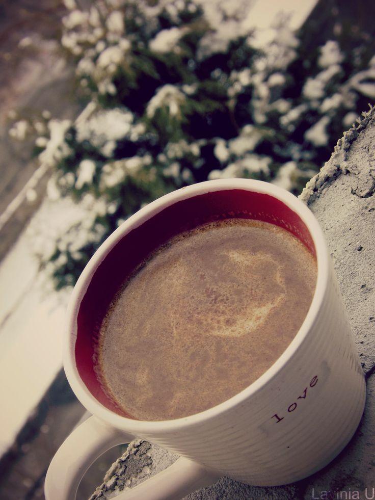 8 of December. Snow.