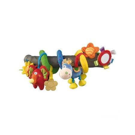 """Playgro Игрушка-подвеска на коляску Червячок  — 1655р. --------- Игрушка-подвеска на коляску """"Червячок"""" маркиPlaygro. Игрушка выполнена в форме спирали и удобна для крепления к ручке коляски или кроватки. Яркие цвета и интересный дизайн привлекут внимание малыша и займут его увлекательной игрой. Играя с подвеской, ребенок развивает тактильные навыки, цветовое и звуковое восприятие, координацию зрения, хватательный рефлекс, память, внимание и умение наблюдать. К подвеске с помощью…"""