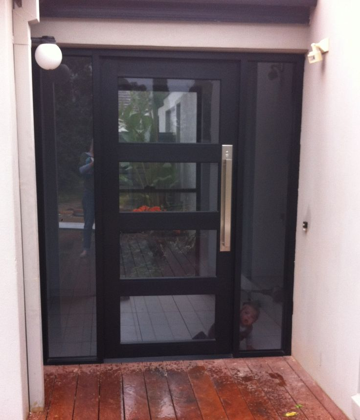 New front entrance. Thanks ACME1 \u0026 Doug Muller Carpentry. Contemporary front door : gainsborough doors - pezcame.com