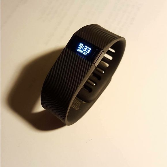FITBIT CHARGE RUNNING ATHLETIC WATCH Brand new, received as a gift from my boyfriend but I don't like wearing watches. It's super cool with lots of features! $85  on ️️ (THIS IS A FITBIT CHARGE NOT CHARGE HR MY MISTAKE) Nike Other