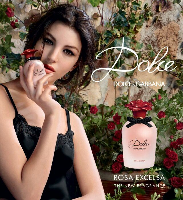 Dolce & Gabbana New Perfume Fragrance Rosa Excelsa Eau De Parfum with the essence of fresh Petals in Bloom.