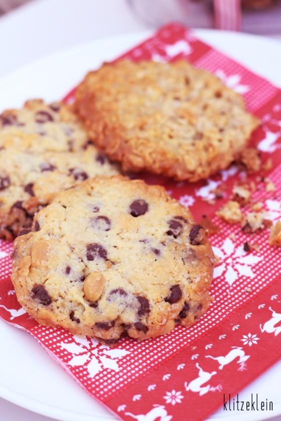 Erdnuss-Schoko-Cookies