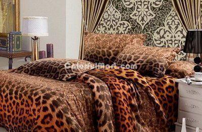 Elegance Cheetah Print Bedding Sets [101201000001] - $189.99 : Colorful Mart, All for Enjoyment