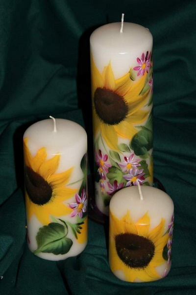 Top 14 Ideas About Hand Painted Candles On Pinterest