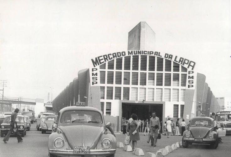Oswaldo Jurno/Estadão - Mercado da zona Oesteem foto da década de 70