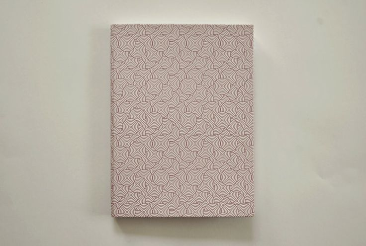 Swirls handmade notebook by Fish without a Bicycle