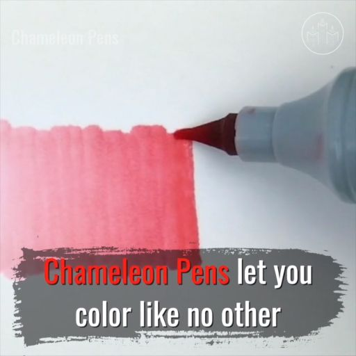 "Chameleon Pens (@chameleon_art_products) let you ""Color like no other"" with an ability to layer and blend seamlessly. Watch how easy it is to create color gradients with just one pen! 🌈✍️(P.S. #HappyBirthday, Chameleon Pens! 🎉🎈🎂) #art #drawing #artsupplies #illustration #markers #chameleonpens #ad"