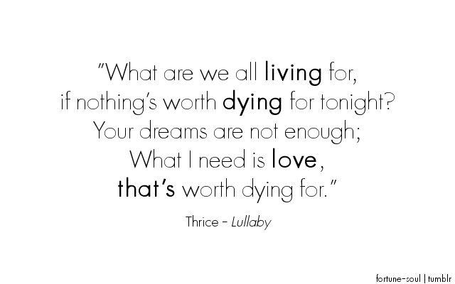 Thrice-Lullaby