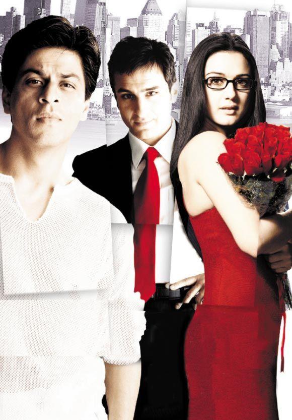 Shahrukh Khan, Saif Ali Khan and Preity Zinta - Kal Ho Naa Ho (2003)